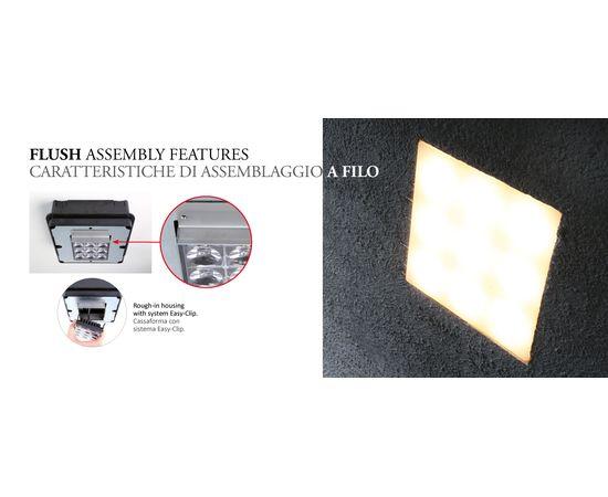 Встраиваемый светильник Castaldi Lighting AXEL SQUARE CONCRETE, фото 2