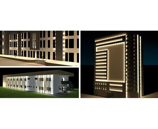 Настенный светильник Castaldi Lighting UPSTER D69, фото 2