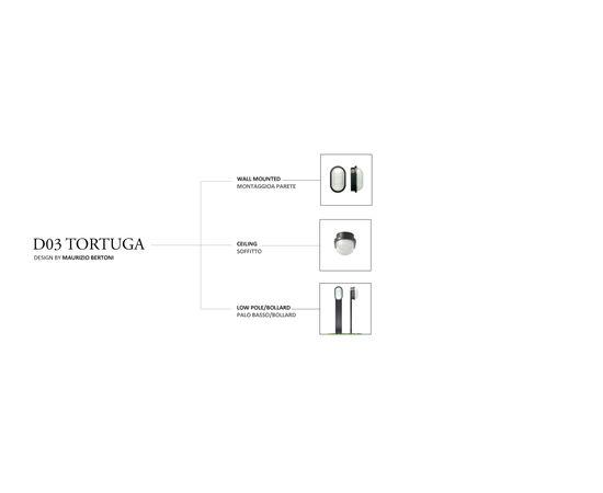 Настенно-потолочный светильник Castaldi Lighting TORTUGA D03, фото 8