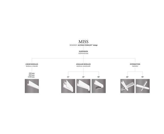 Подвесной светильник Castaldi Lighting Miss Suspension, фото 6