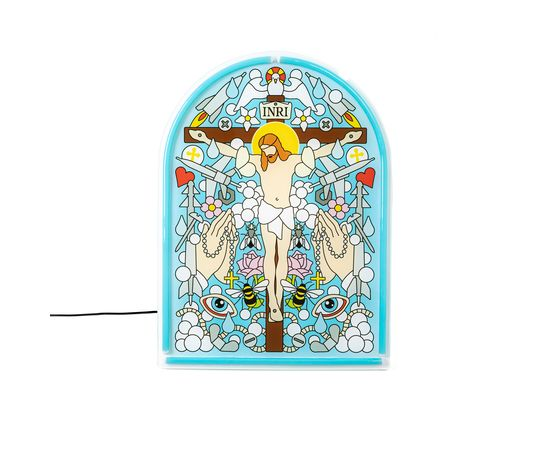 Настенный светильник Seletti Gospel Led Signs Jesus, фото 1