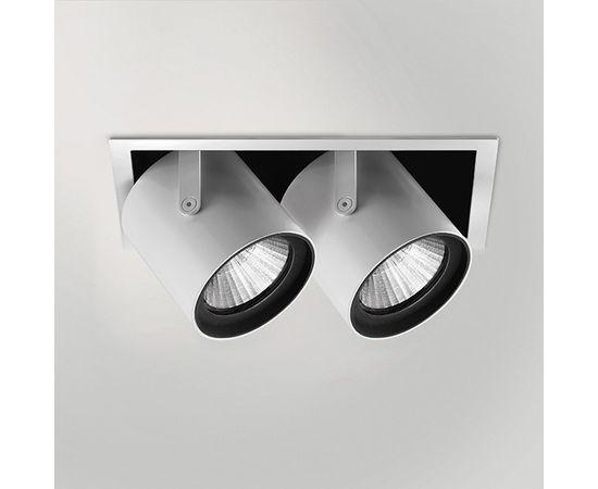 Встраиваемый светодиодный светильник Quattrobi KOR double light, фото 1