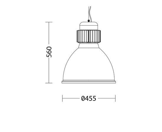 Подвесной светильник Quattrobi INDUSTRY, фото 2