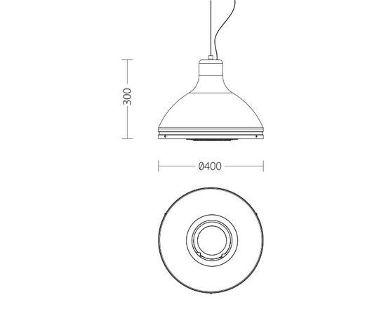 Подвесной светильник Quattrobi INDUSTRY II, фото 2