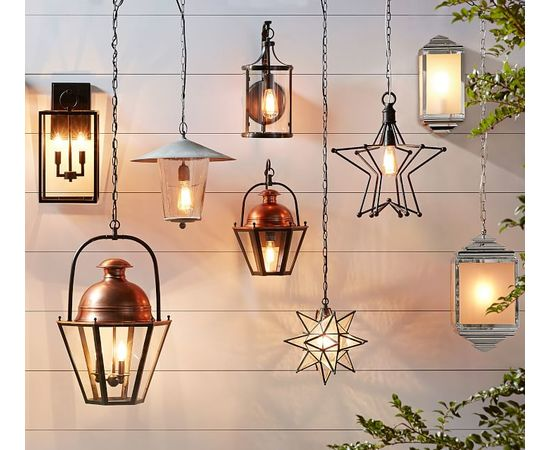 Подвесной светильник Pottery Barn Rustic Star Indoor/Outdoor Pendant, фото 2
