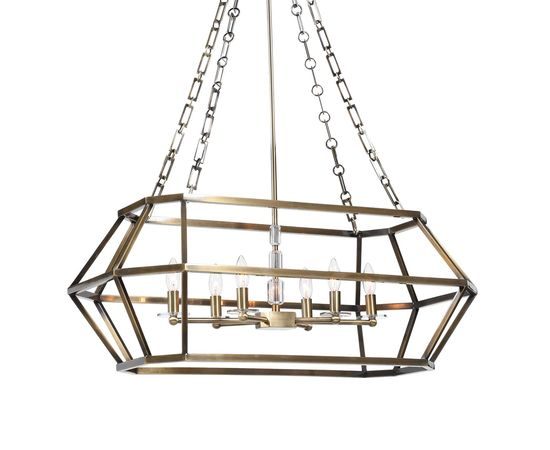 Люстра UTTERMOST Configuration, 6 Lt Oval Chandelier, фото 1