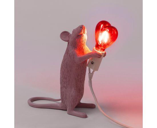 Настольная лампа Seletti Mouse Lamp Love Edition, фото 4