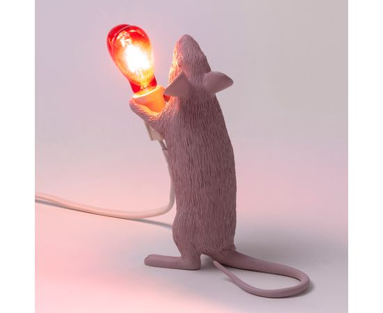 Настольная лампа Seletti Mouse Lamp Love Edition, фото 2