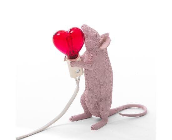 Настольная лампа Seletti Mouse Lamp Love Edition, фото 1