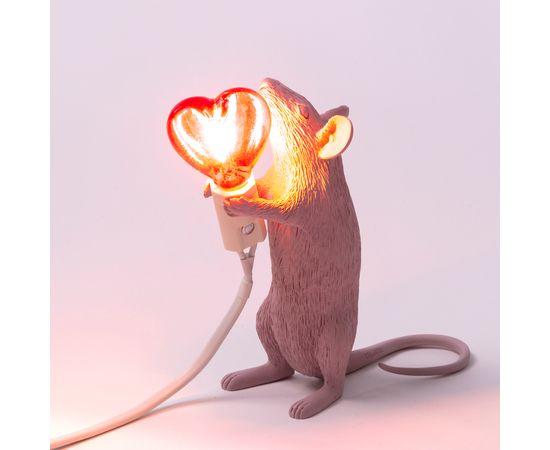 Настольная лампа Seletti Mouse Lamp Love Edition, фото 7