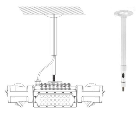 Подвесной светильник 4BAY high bay light purification module, фото 4