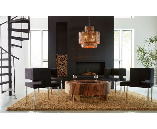 Люстра Philips Collection Armor Chandelier Brass, фото 3