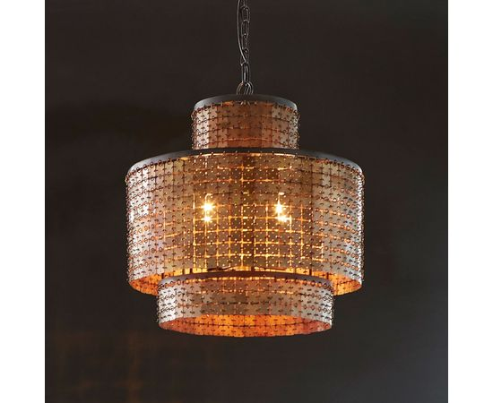 Люстра Philips Collection Armor Chandelier Brass, фото 2
