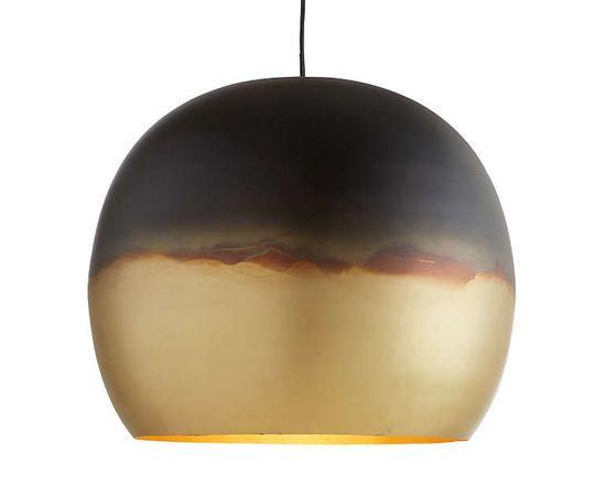 Подвесной светильник Crate and Barrel Elara Metal Globe Pendant Light, фото 2