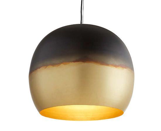 Подвесной светильник Crate and Barrel Elara Metal Globe Pendant Light, фото 1