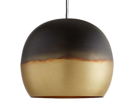 Подвесной светильник Crate and Barrel Elara Metal Globe Pendant Light, фото 9