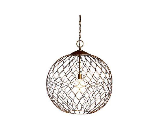 "Подвесной светильник Crate and Barrel Hoyne 15"" Iron Pendant Lamp, фото 2"