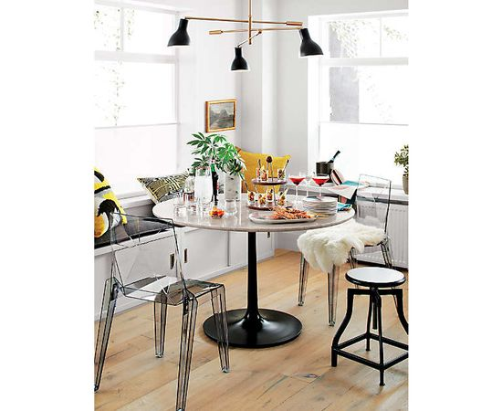 Люстра Crate and Barrel Kace 3 Arm Chandelier, фото 7