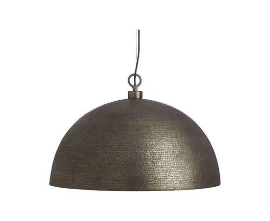 Подвесной светильник Crate and Barrel Rodan Hammered Metal Dome Pendant Light, фото 3