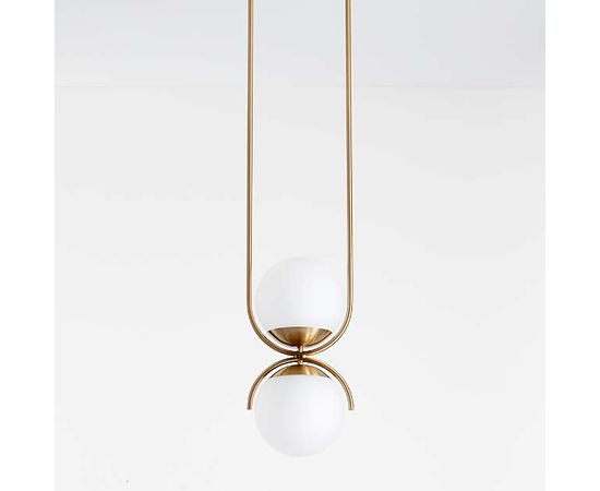 Подвесной светильник Crate and Barrel Rondure Globe Pendant Light, фото 2