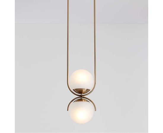 Подвесной светильник Crate and Barrel Rondure Globe Pendant Light, фото 1