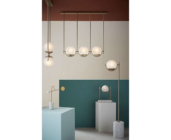 Подвесной светильник Crate and Barrel Rondure Globe Pendant Light, фото 3
