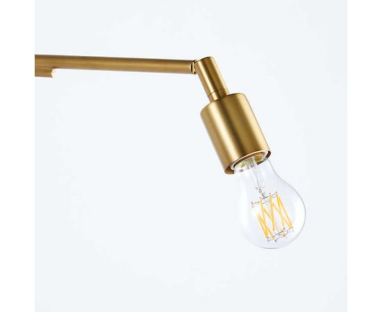 Настенный светильник Crate and Barrel Nors Antique Brass Wall Sconce, фото 3