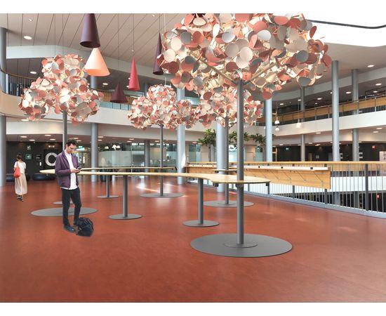 Напольный светильник Green Furniture Concept Leaf Lamp Metal Tree M w Table, фото 9