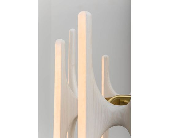Люстра Markus Haase Bleached Ash and Onyx Chandelier, фото 4