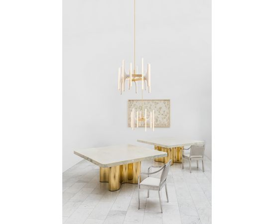 Люстра Markus Haase Bleached Ash and Onyx Chandelier, фото 2