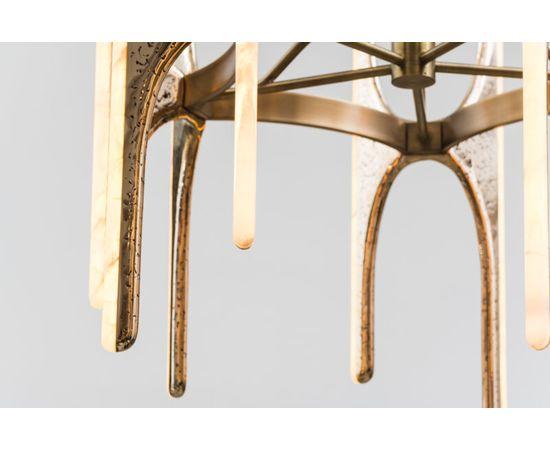 Люстра Markus Haase Wormed Bronze 5-arm Chandelier, фото 8