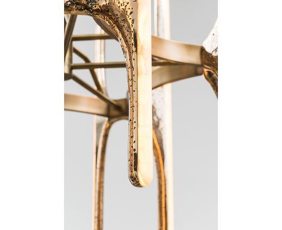 Люстра Markus Haase Wormed Bronze 5-arm Chandelier, фото 5