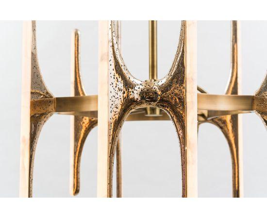 Люстра Markus Haase Wormed Bronze 5-arm Chandelier, фото 3
