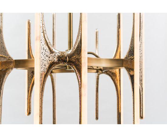 Люстра Markus Haase Wormed Bronze 5-arm Chandelier, фото 2