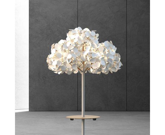 Напольный светильник Green Furniture Concept Leaf Lamp Metal Tree M w Table, фото 4