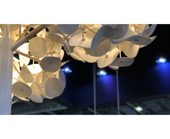 Напольный светильник Green Furniture Concept Leaf Lamp Metal Tree M, фото 2