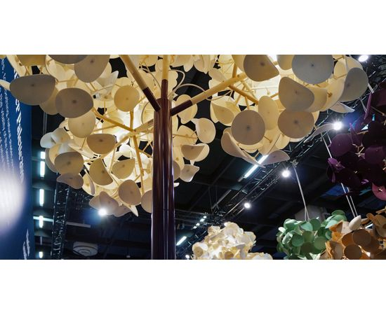 Напольный светильник Green Furniture Concept Leaf Lamp Metal Tree M w Table, фото 3