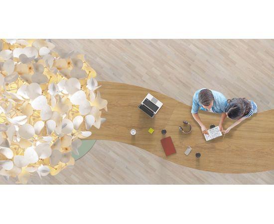 Напольный светильник Green Furniture Concept Leaf Lamp Metal Tree M w Table, фото 6