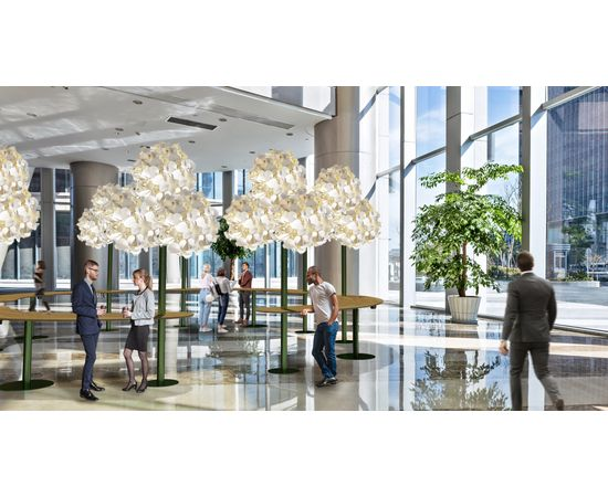 Напольный светильник Green Furniture Concept Leaf Lamp Metal Tree M, фото 6