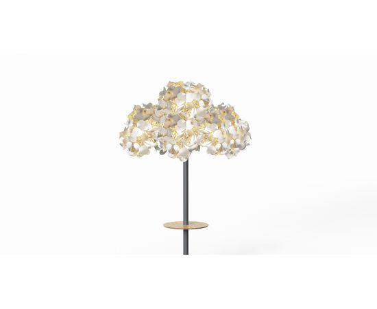 Напольный светильник Green Furniture Concept Leaf Lamp Metal Tree M w Table, фото 11
