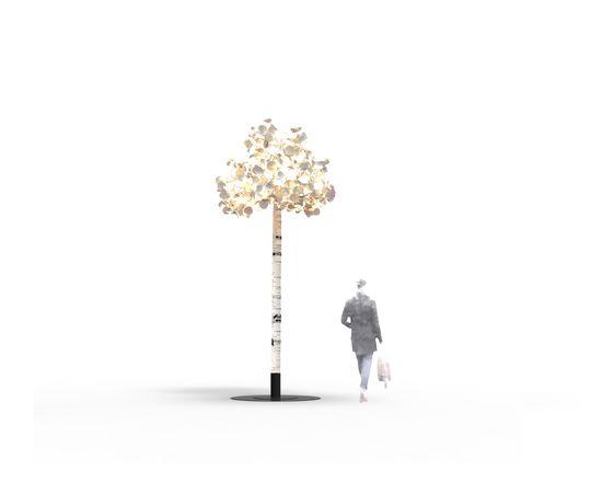 Напольный светильник Green Furniture Concept Leaf Lamp Tree S, фото 2