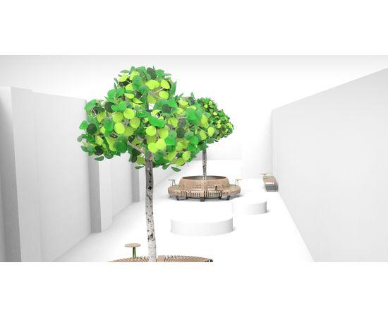 Напольный светильник Green Furniture Concept Leaf Lamp Tree S, фото 6