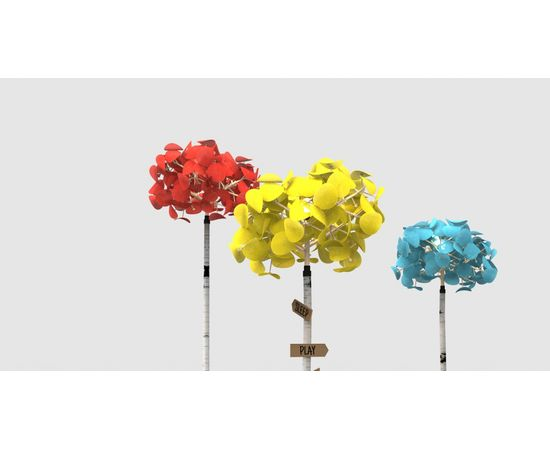 Напольный светильник Green Furniture Concept Leaf Lamp Tree S, фото 8