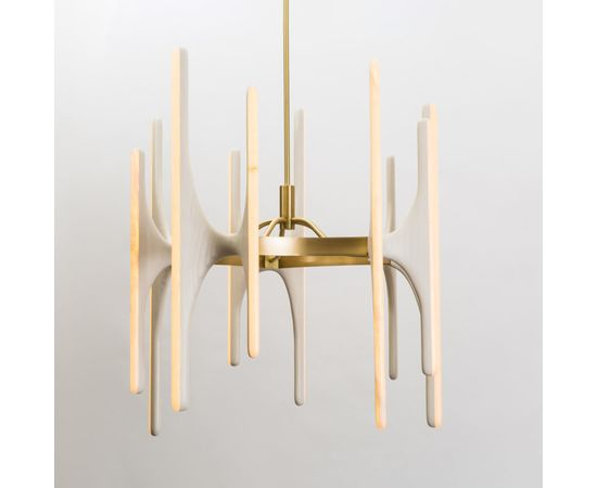 Люстра Markus Haase Bleached Ash and Onyx Chandelier, фото 1