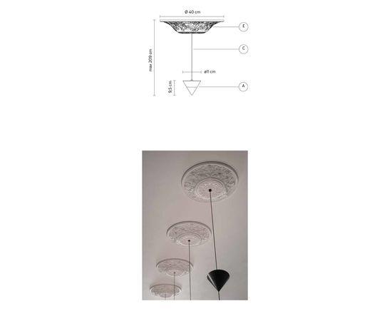 Подвесной светильник Karman Moonbloom SE256 1B INT, фото 2