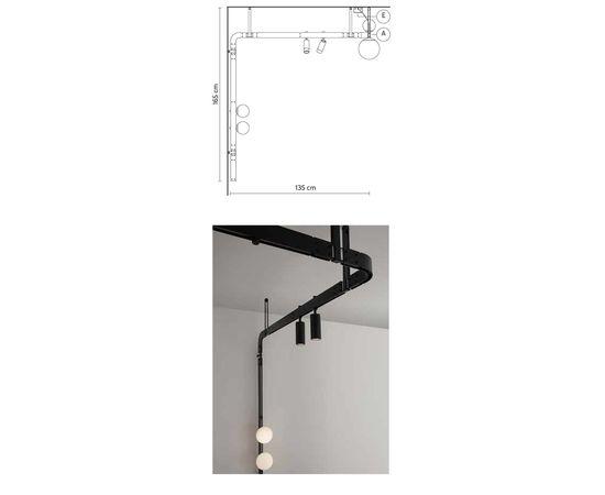 Настенно-потолочный светильник Karman Stant AP264 GG INT, фото 2