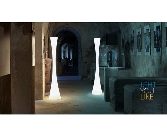 Напольный светильник Martinelli Luce 2217/POL/P/BD/L/1 biconica pol, фото 2