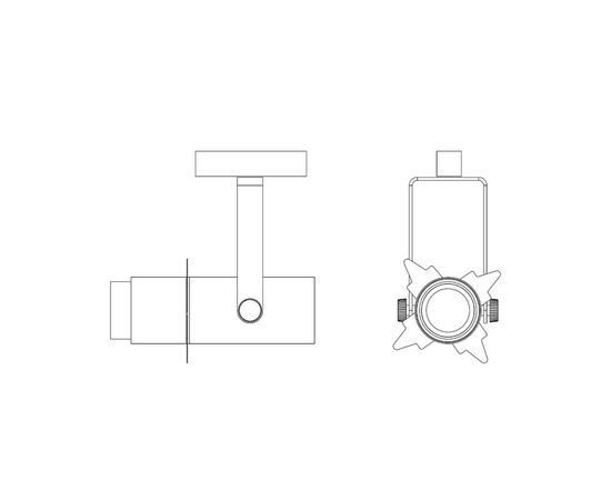 Трековый светильник Martinelli Luce 2898 S20, фото 3