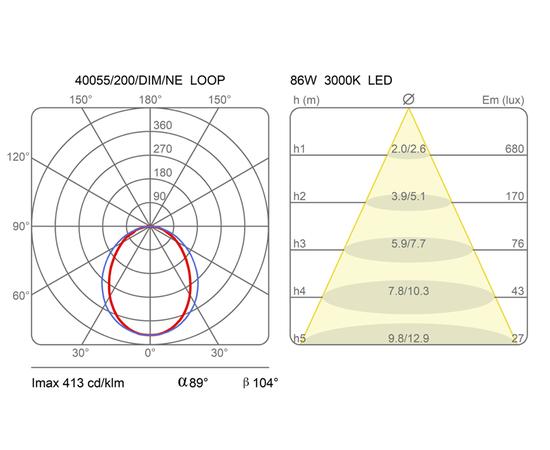 Подвесной светильник Martinelli Luce 40055/200/DIM Loop, фото 3