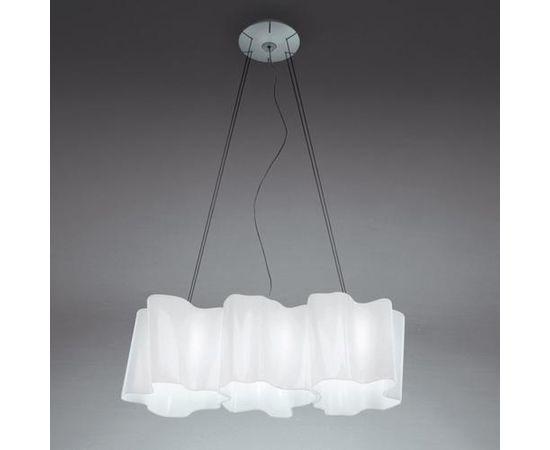 Подвесной светильник Artemide Logico sospensione 3 in linea, фото 1